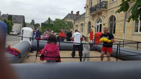Brécy le 15 juin 2019 Initiation boxe