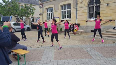 Brécy le 15 juin 2019 Démonstration gym strong